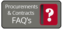 Procurement and contracts faqs
