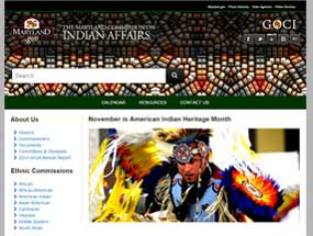 The Maryland Commission on Indian Affairs Home Page