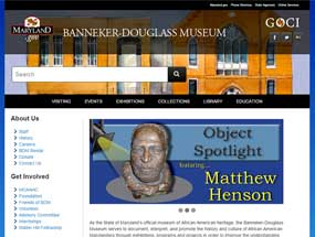 The Banneker-Douglass Museum Home Page
