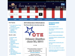 The State Board of Elections Home Page