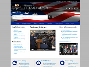 Department of Veterans Affairs Home Page