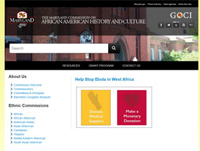 The Maryland Commission on African American History and Culture Home Page