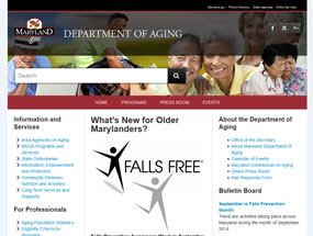 Department of Aging Home Page