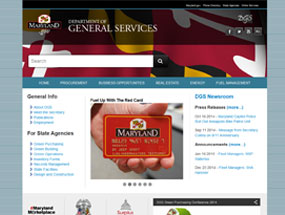 Department of General Services Home Page