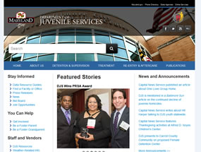 Department of Juvenile Services Home Page