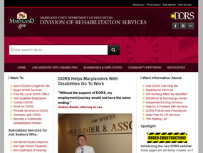 Division of Rehabilitation Services Home Page