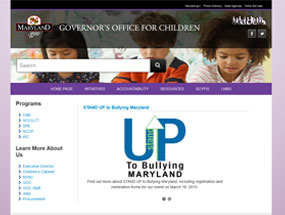 Governor's Office for Children Home Page