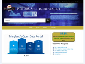 Governor's Office of Performance Improvement Home Page