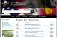 Governor's Grants Office Home Page