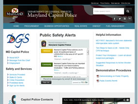 Maryland Capitol Police Home Page