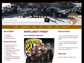 State Police Home Page