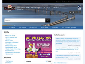 Maryland Transportation Authority Home Page