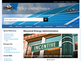 Energy Administration Home Page