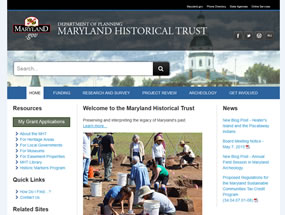 Maryland Historical Trust Home Page