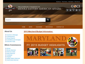 The Governor's Commission Middle Eastern Affairs Home Page