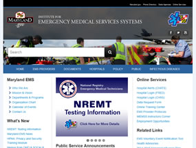 Institute for Emergency Medical Services Systems Home Page