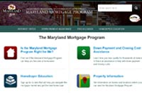 Maryland Mortgage Program Home Page