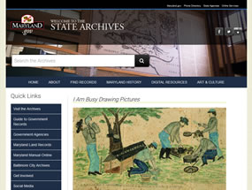 State Archives Home Page