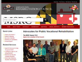 Maryland State Rehabilitation Council Home Page