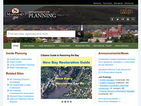 Department of Planning Home Page