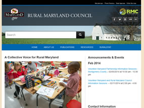 Rural Maryland Council Home Page