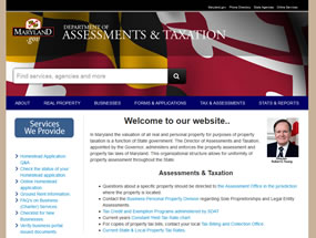 Department of Assessments & Taxation Home Page
