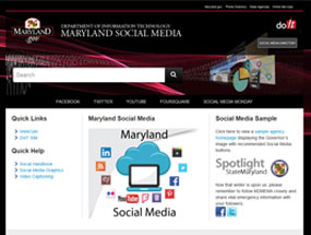 Maryland Social Media Monday Home Page