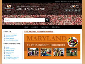 The Governor's Commission on South Asian Affairs Home Page