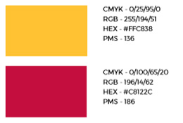 Maryland red and yellow examples
